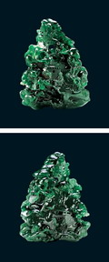 Crystal clear decoration jade 3D texturing free download