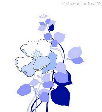 Common household decorative wall graphic flower in the case of the beautiful chapter NO.1