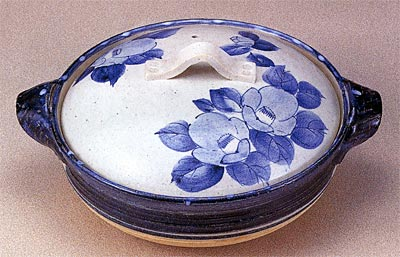 Ceramic kitchen utensils, casserole, classic casserole, Japanese style, coloring