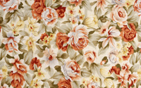 Flower Textures Of Wallpapers-2