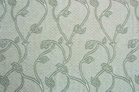 Light blue pattern wallpaper vine material