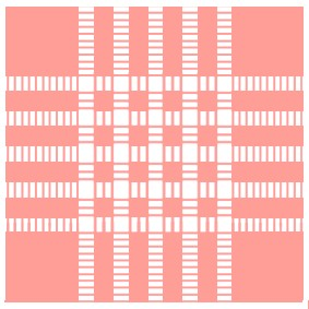 White stripes pink fabric textures