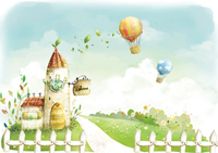 European style painting wallpaper-3