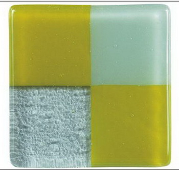 Green and gray squares portfolio glass bricks texture