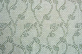 Light blue the vine patterned wallpaper map material