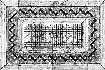 European classical pattern tile