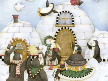 Christmas picture book wallpaper