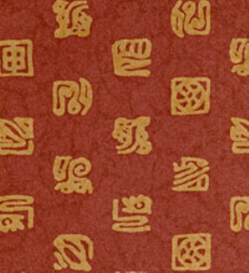 Chinese elements wallpaper maps