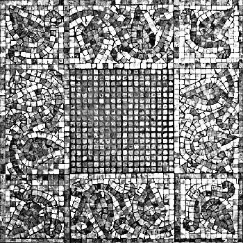 Classic European-style tile pattern