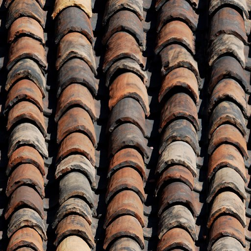 Tile/ancient tile roof construction
