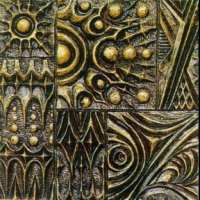 Metal Bas-Relief Maya and Chinese Classical Pattern 3DsMax Map Texture