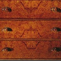 High-grade mahogany furniture drawers 3D texturing download