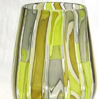 Glass Art Vase