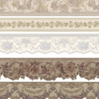 Family Lace Wallpaper in european style