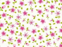 Pastoral flowery cloth marks(4)